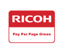 Ricoh Pay per page Green